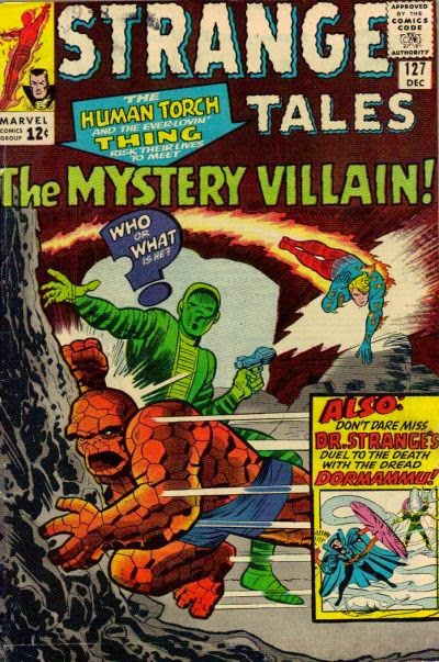 Strange Tales #127, The Thing and the Human Torch