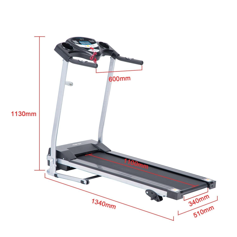 Treadmill Belt Too Loose: Health And Fitness Den: Merax JK1603E Folding Electric