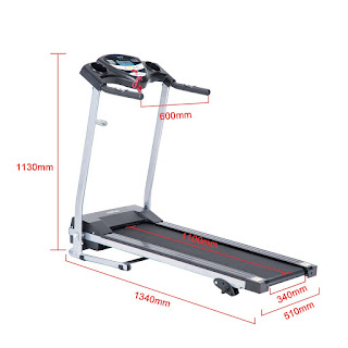 Merax JK1603E Folding Electric Treadmill, image, review features & specifications