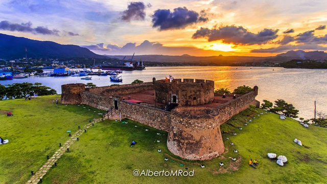 Fortaleza San Felipe, Puerto Plata, República Dominicana. (Foto: @albertomrod)