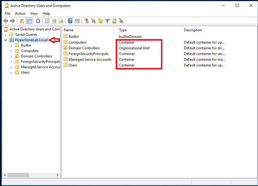 Implementing Organizational Units (OU) in Windows Server 2016 - Code