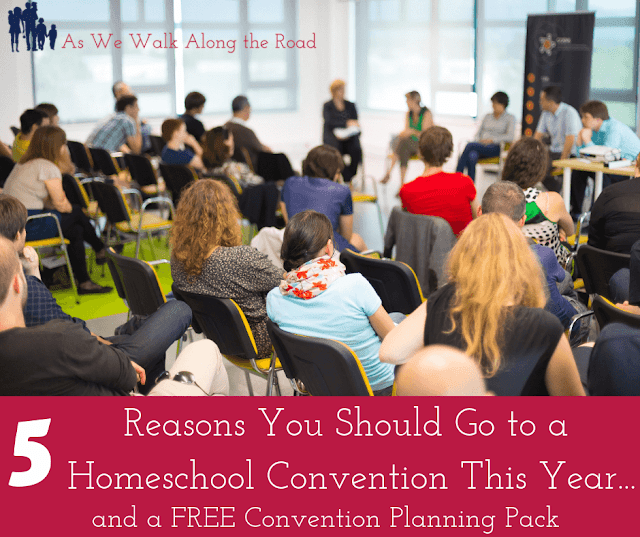 Why go to a homeschool convention