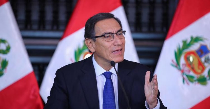 Presidente Martín Vizcarra clausura hoy el 11° Gore Ejecutivo, en Palacio de Gobierno