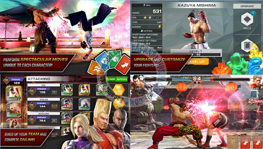 Game TEKKEN v0.3 Apk Data Release For All Region Mod Android Terbaru | Baca android | Bacandroids.co