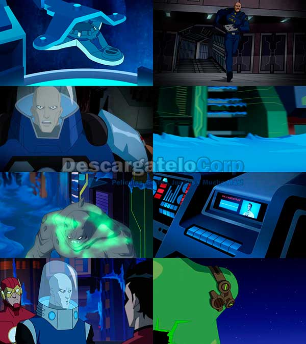 Batman Unlimited Mech vs Mutants DVDrip Español Latino