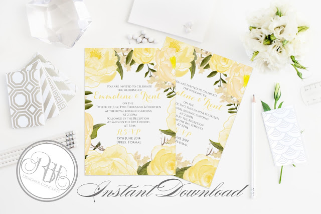 https://www.etsy.com/au/listing/263792127/yellow-white-watercolor-wedding