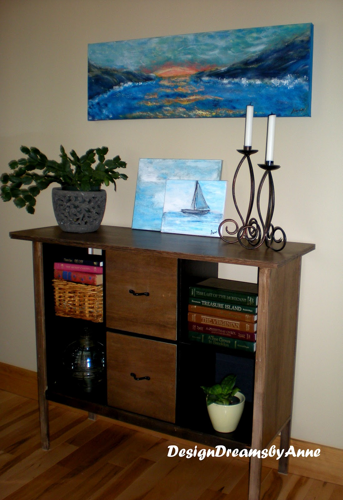 kitchen cabinet heights designdreams by upcycle a cube to a console 2540