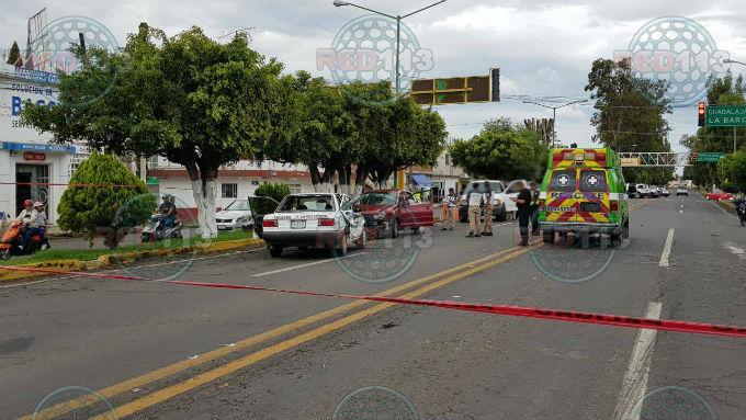 Se desata balacera en Zamora - RED113