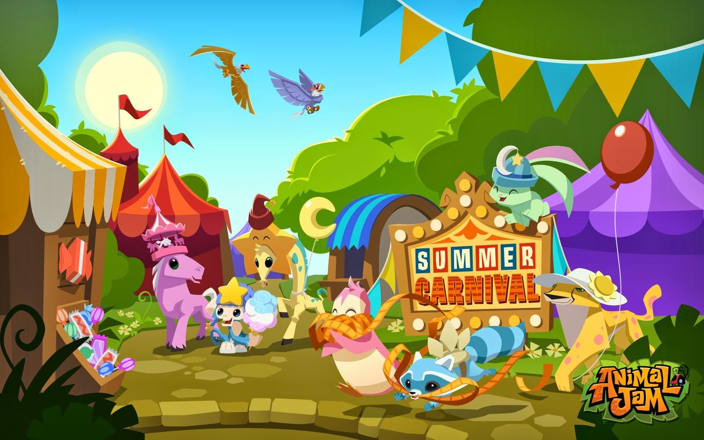 Cute Cartoon Bird Wallpapers Animal Jam Spirit Blog Summer Carnival Fun Amp Pearl Birthstone
