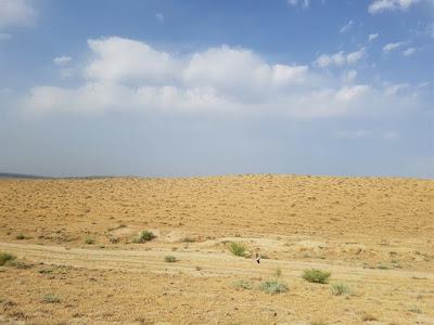 Desierto de Gobustán, en Azerbaiyán