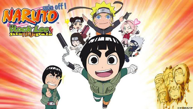 NARUTO Spin-Off: Rock Lee & His Ninja Pals - Best Chibi Anime Shows list