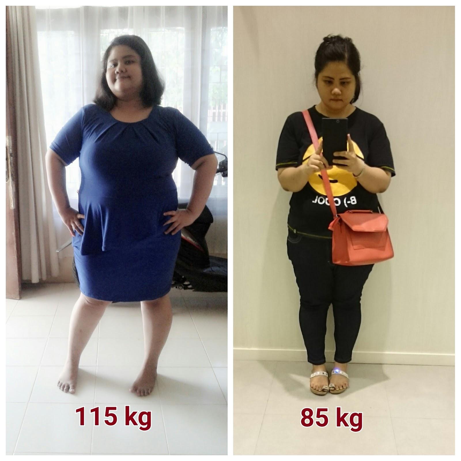 Berat Turun 40 kg Dalam Masa 2 bulan?