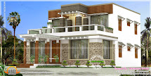 Modern Exterior House In 382 Square Yards - Kerala Home