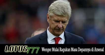Wenger Mulai Ragukan Masa Depannya di Arsenal