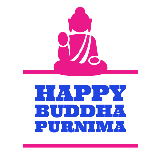 Happy buddha purnima whatsapp stickers transparent png image