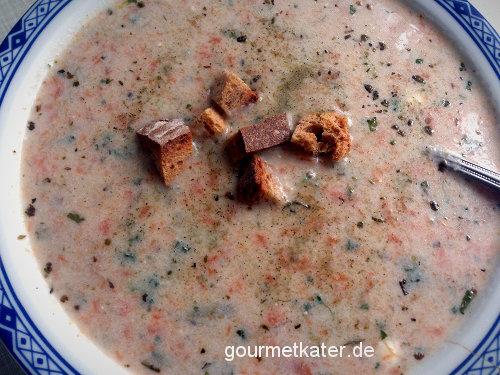 Gründonnerstag-Kräuter-Suppe