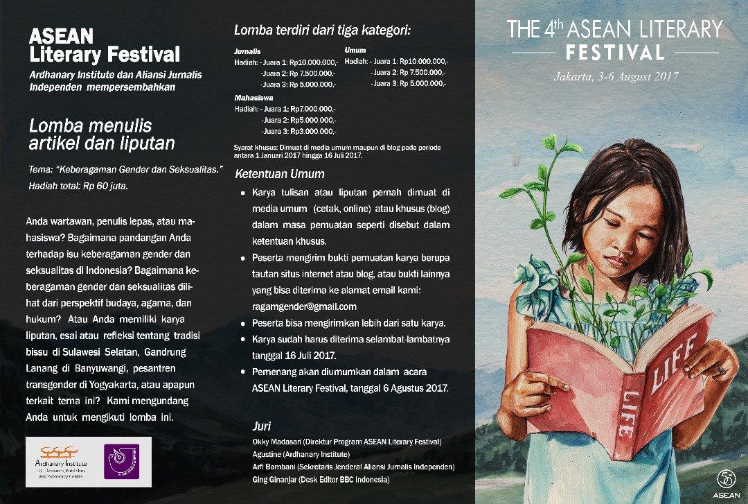Lomba Menulis Asean Literary Festival 2017