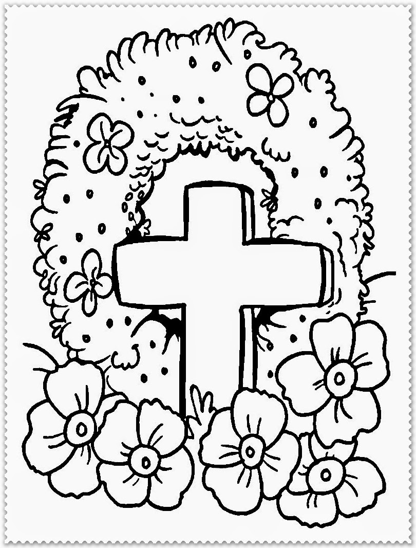 coloring pages for remembrance day poppies