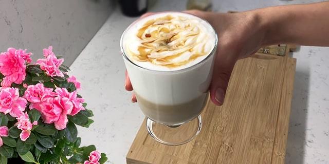 köpüklü enfes latte tarifi