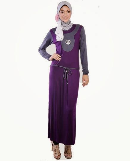 Model Baju Muslim Lebaran Trendy Untuk Perempuan