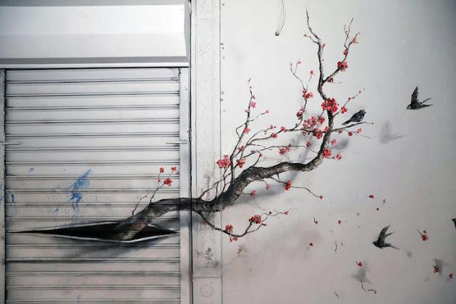 artista-callejero-Pejac-ilusiones-ópticas-de-la-naturaleza-en-edificios