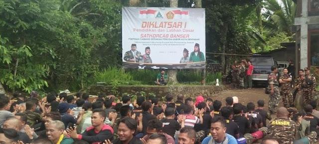 Alhamdulillah! Tiga Mualaf Ikut Diklatsar Banser Denpasar