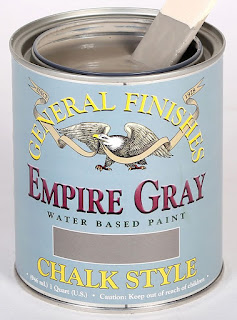chalk paint, chalk style paint, how to paint furniture using General Finishes Chalk Style paint, the perfect shade of grey
