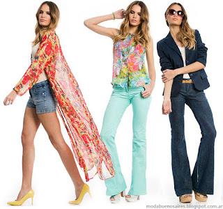 prendas combinales entre si que responden a las ultimas tendencias de la moda una paleta de colores intensa y variada que no escapa a
