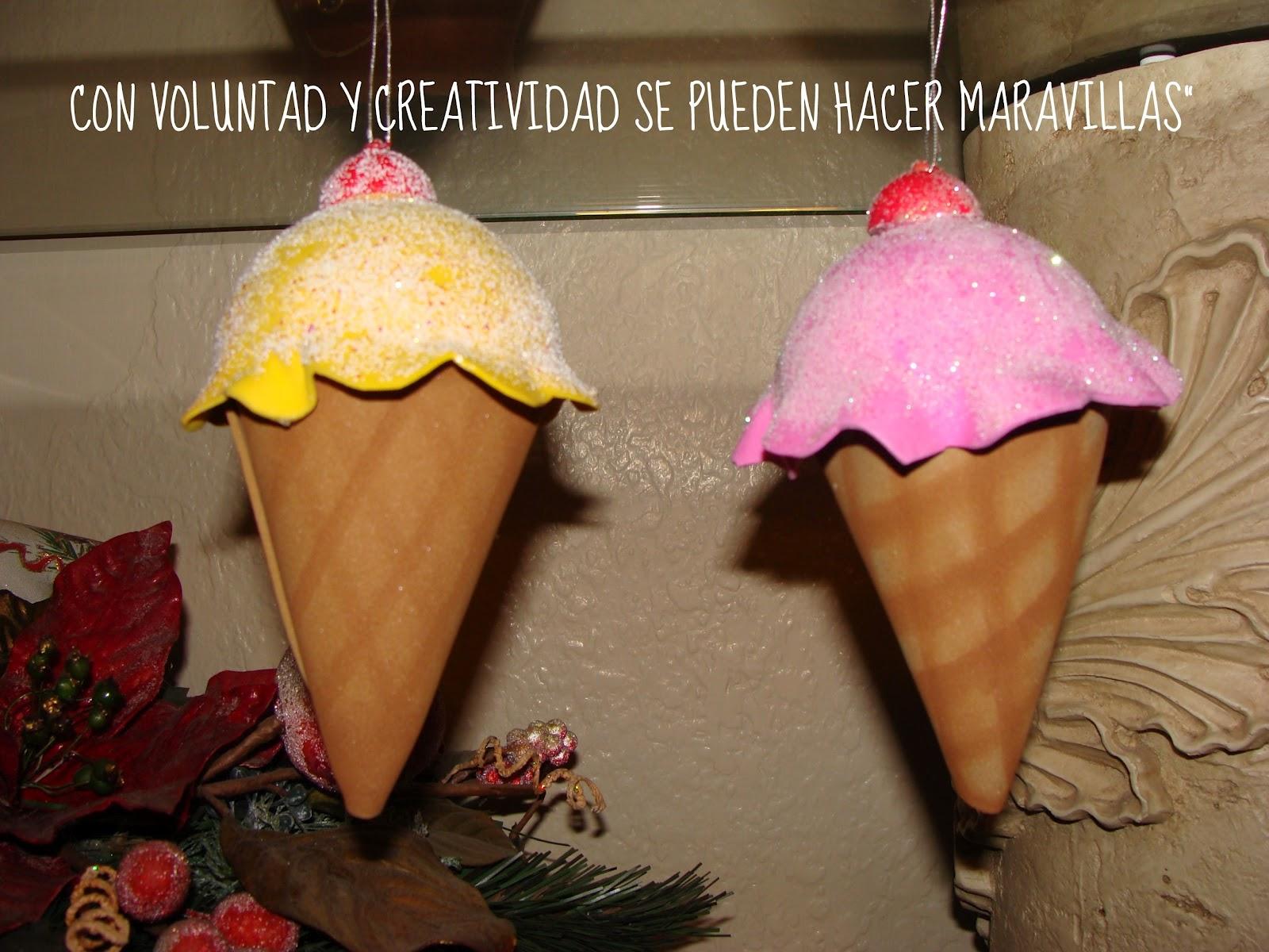 Con voluntad y creatividad se pueden hacer maravillas for Colgantes para arbol de navidad