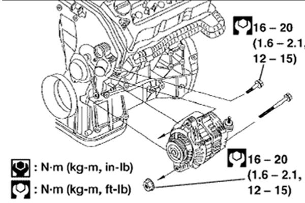 SOLO NISSAN ALTIMA: VIBRACIÓN DE MOTOR DE ALTIMA 2.5l