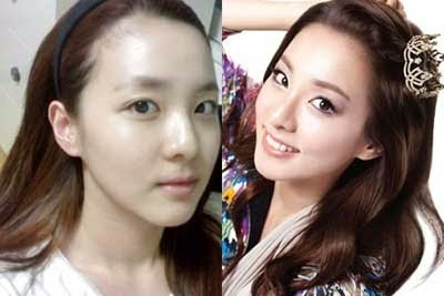7 Artis Korea Tanpa Make-Up