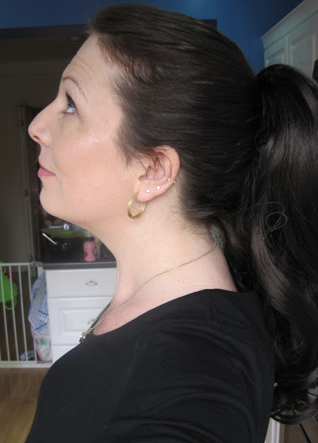 Love Hair Extensions Victorian Pop-on Ponytail