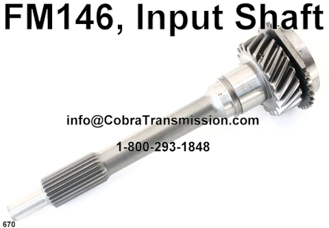 Cobra Transmission Parts 1-800-293-1848: Ford's FM132
