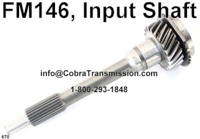 Cobra Transmission Parts 1-800-293-1848: Ford's FM132