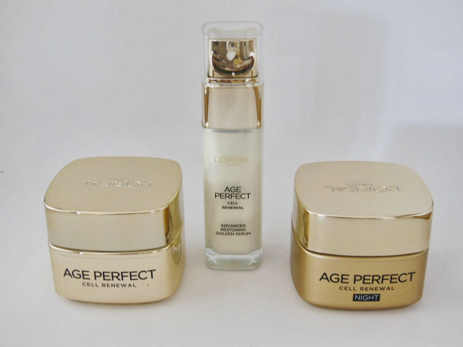 Product Review: L'Oreal Age Perfect Cell Renewal Serum, Day Cream