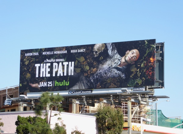 Hugh Dancy The Path season 2 billboard