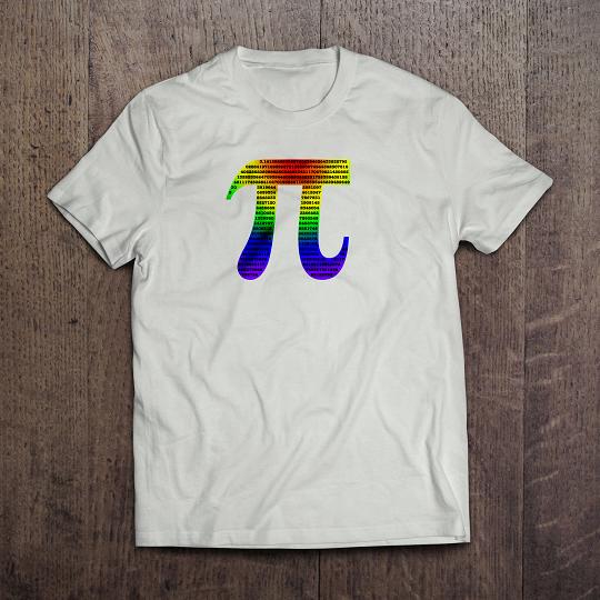 Kaos Matematika Pi Number Putih