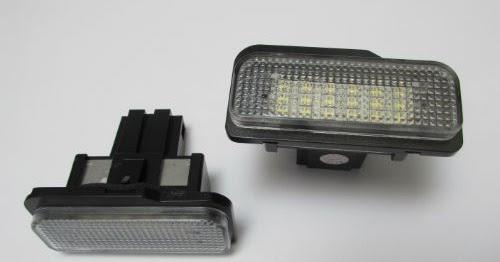 Lampu Led Plat Nomor W203 5d  W211  W219 R17  Canbus