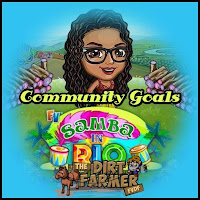 Farmville Samba In Rio Farm Community Goals
