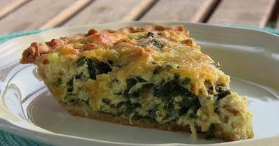 Spinach-Swiss-Quiche