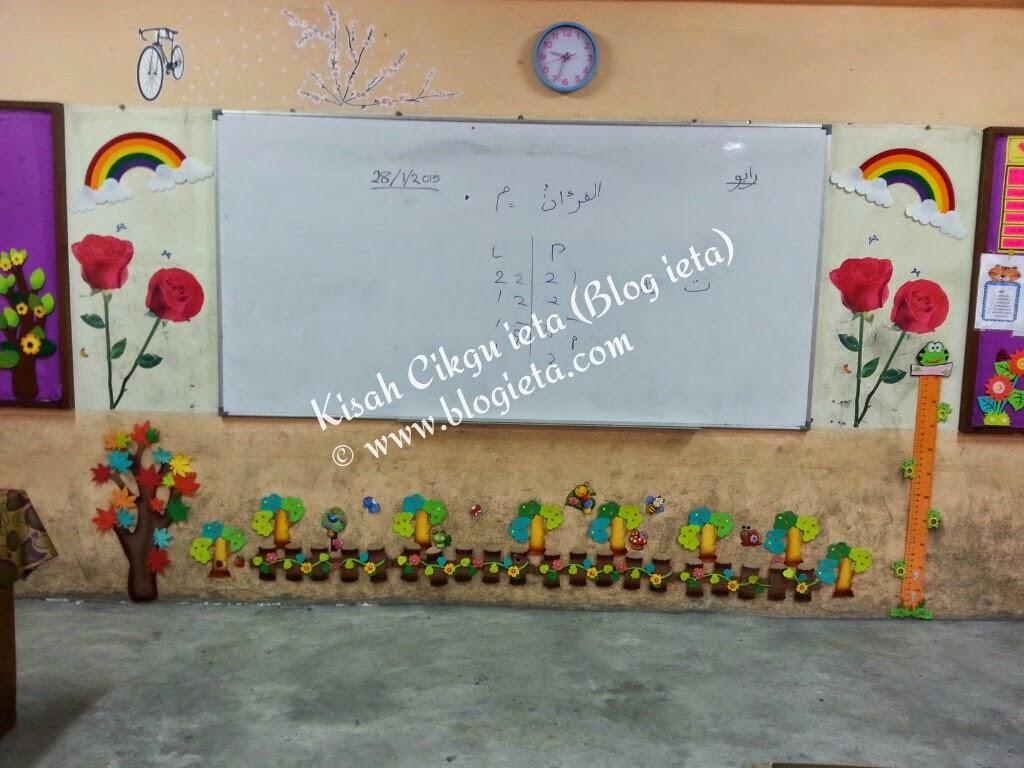 Dekorasi Sempoi Kelas Tahun 1 Cikgu Ieta