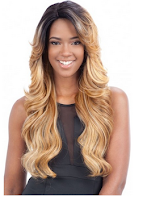 Freetress Equal Synthetic Deep Invisible Part Lace Front Wig MIZZY