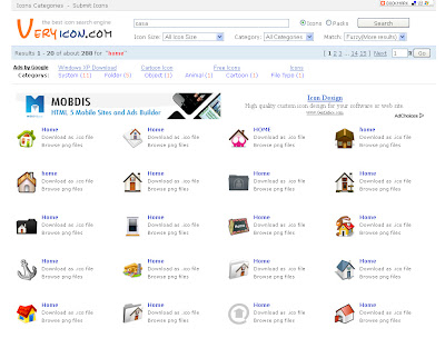 Very icon: buscador de iconos gratis