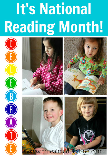 Activities for national reading month
