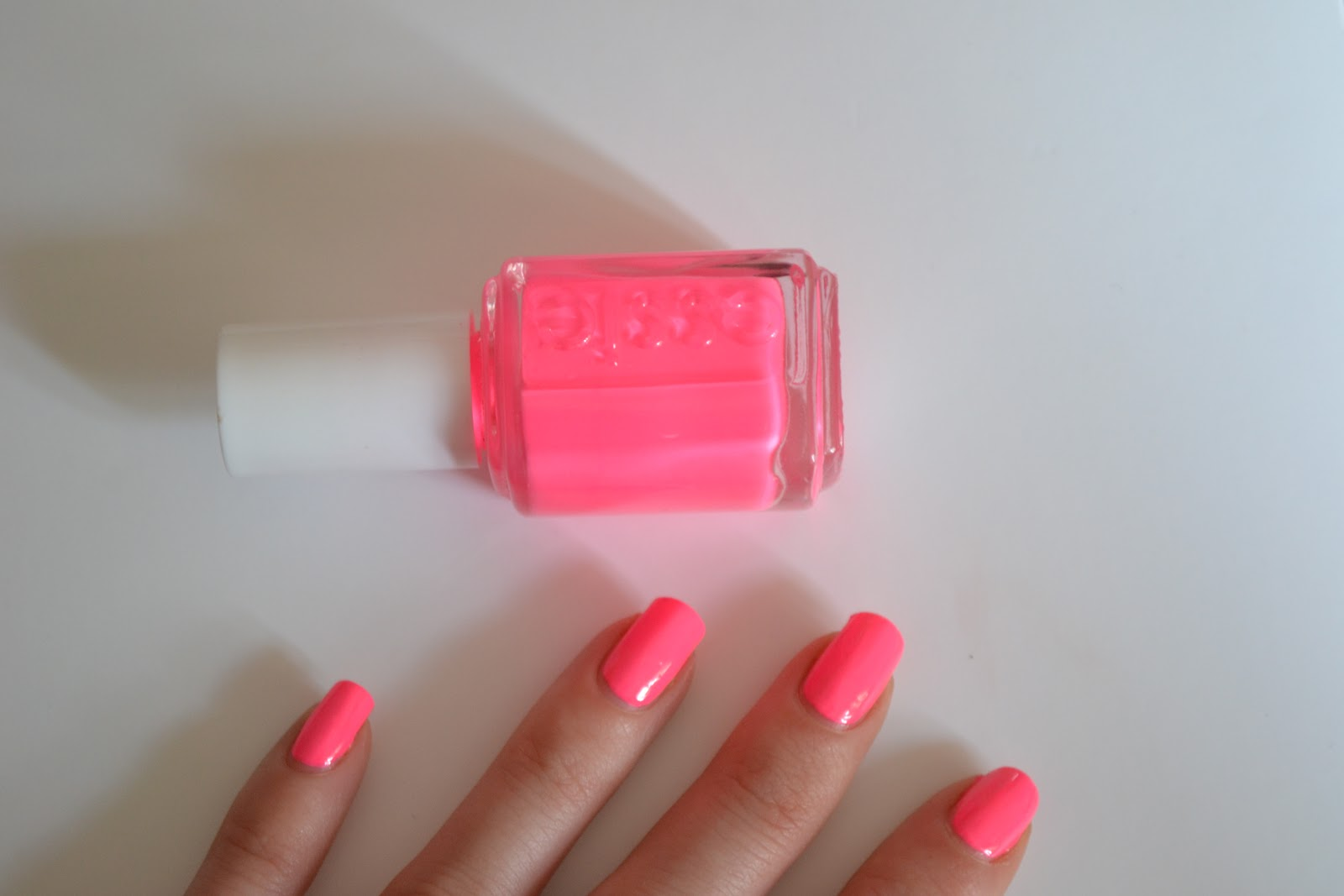 Makeupvitamins Essie Punchy Pink 694 Swatch Review Amp Dupes