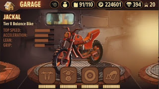 Tampilan game Trials Frontier