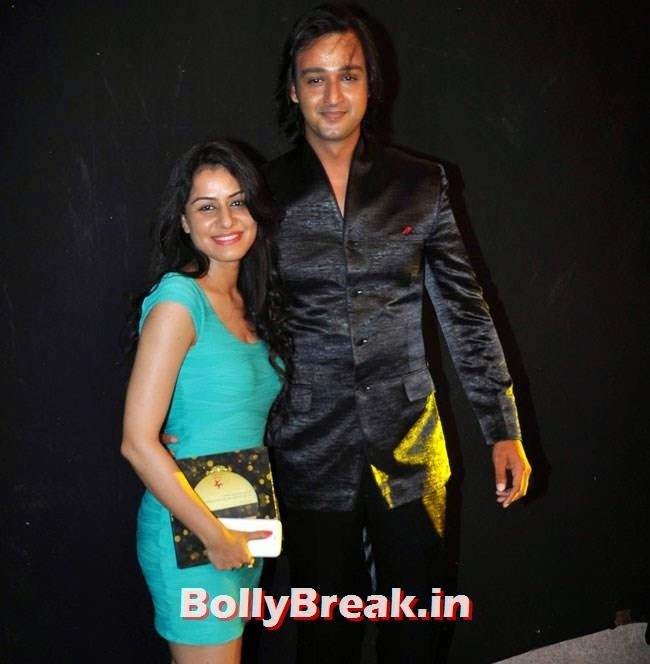 Saurabh Raj Jain along with his wife Riddhima