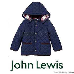 Prince George wore John Lewis Quilted Jacket