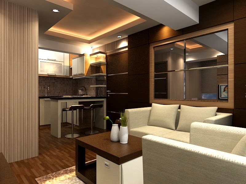 desain interior apartemen minimalis 2 kamar