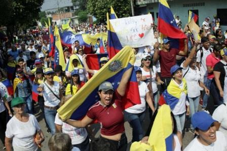 أمريكيا تدرس بجدية إمكانية استخدام القوة العسكرية في فنزويلا.؟